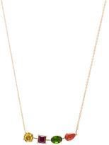 Ileana Makri Multi Shape Branch Necklace in Metallics.