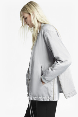 French Connection Adell Quilted Metallic Jacket