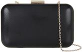 Accessorize Finlay Snake Hardcase Clutch Bag