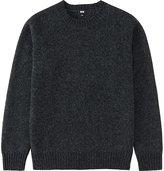 Uniqlo Men Boiled Wool Crewneck Sweater