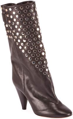 Isabel Marant Lakfee Studded Cone Booties