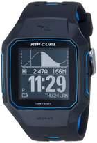 Rip Curl Men's SearchGPS Quartz Sport Watch with Polyurethane Strap Black 25.9 (Model: A1144-BLU)