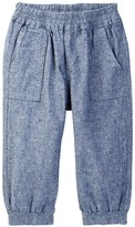 Tea Collection Chambray Bubble Pants (Baby Girls)