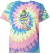 Hybrid Men's Tie-Dyed Graphic T-Shirt