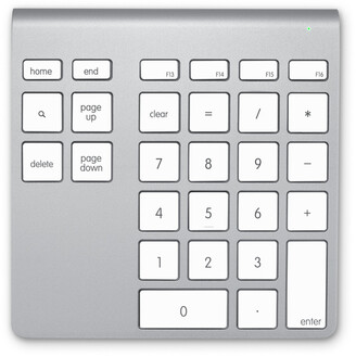 Belkin YourType Bluetooth Wireless Keypad - silver