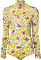 Prabal Gurung floral bodysuit