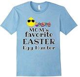 Women's Easter Outfit Shirt Boys Girls Moms Favorite Egg Hunter XL
