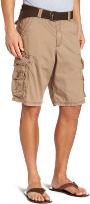 Lee Uniforms Lee Men's Big-Tall Dungarees Belted Wyoming Cargo Short