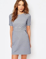 Warehouse Stripe a Line Dress