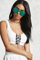 Forever 21 Knockout Cropped Tank