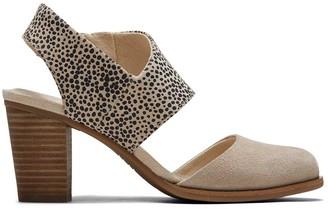 Toms Cobblestone Cheetah Majorca Closed Toe Sandal