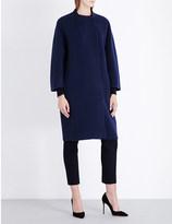 S MAX MARA Cocoon wool, angora and cashmere-blend coat