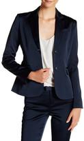 ATM Anthony Thomas Melillo Satin Blazer Jacket