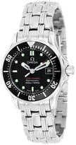 Omega Women's Seamaster Stainless Steel Watch