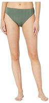 Vince Camuto Ripple Effect Reversible High Leg High-Waist Bottoms (Iguana) Women's Swimwear