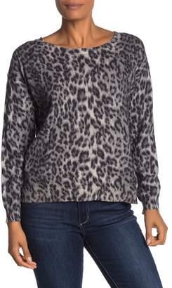 Joie Eloisa Animal Knit Sweater