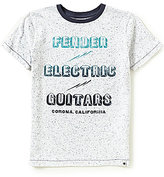 Lucky Brand Big Boys 8-20 Fender Electric Short-Sleeve Tee