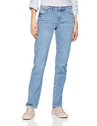 Esprit Women's 029EE1B006 Straight Jeans, (Blue Light Wash 903), W26/L31