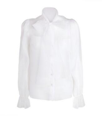 Dolce & Gabbana Sheer Shirt