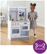 Kid Kraft Let's Cook Wooden Play Kitchen
