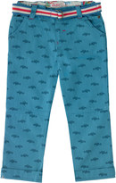 Cath Kidston Mono Cars Trouser With Belt