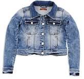 7 For All Mankind Girls' Denim Jacket - Big Kid