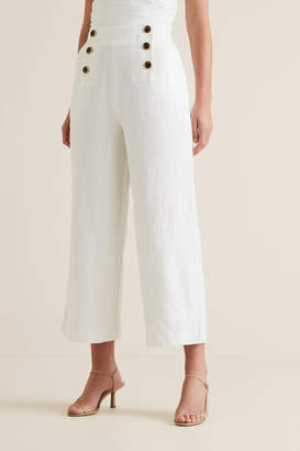 Seed Heritage Button Front Trouser