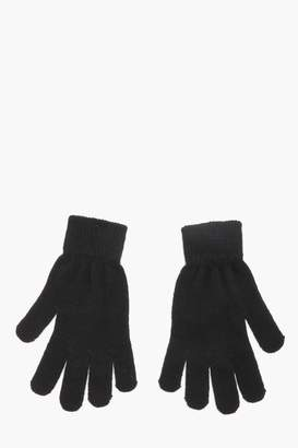 boohoo Mens Thermal Magic Gloves