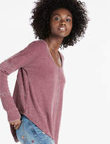 Lucky Brand Scoop Neck Thermal