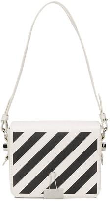 Off-White Diag Binder Clip bag