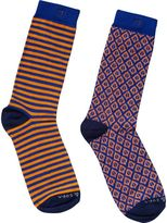 Scotch & Soda 2-Pack Colourful Socks