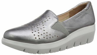 Stonefly Womens 213876 Loafers Grey Size: 3.5 UK