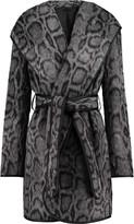 Diane von Furstenberg Bergen leopard-print faux fur coat