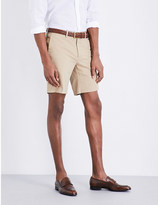 Ralph Lauren Purple Label Knightsbridge straight-fit stretch-cotton shorts