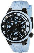 Swiss Legend Unisex 11044P-BB-01-BBLB-WC Neptune Analog Display Swiss Quartz Blue Watch