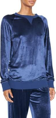 Balmain Velvet Sweatshirt