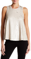 Rachel Roy Sleeveless Sequin Blouse
