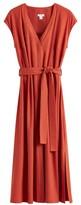 Linen Button Front Dress