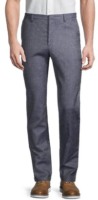 HUGO BOSS Kaito 3 Twill Linen-Blend Trousers