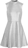Markus Lupfer Savannah metallic cotton-blend mini dress