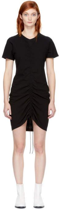 Alexander Wang Black High Twist Dress