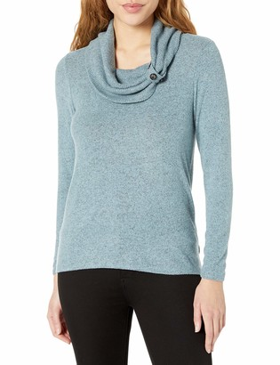 Amy Byer Women's Cowl Neck Top