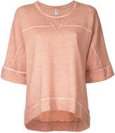The Upside sweat T-shirt
