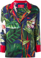 F.R.S For Restless Sleepers - floral print blazer - women - Silk - S