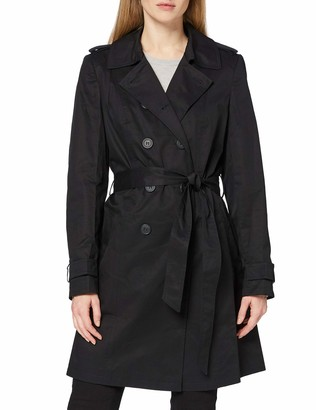 Find. Amazon Brand Women's Trench Coat with Shoulder Epaulets and Belt