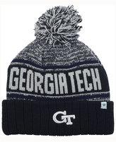 Top of the World Georgia Tech Yellow Jacket Acid Rain Pom Knit Hat