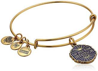 Alex and Ani Women's Tap Into Your Intuition Charm Bangle Bracelet
