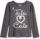 Epic Threads Little Girls' Mix and Match Tutu Cute Graphic-Print T-Shirt, Only at Macy's
