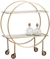 Arteriors Rupert Iron Bar Cart