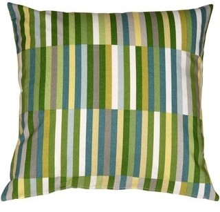 Overstock Pillow Decor - Waverly Side Step Marine 20x20 Throw Pillow